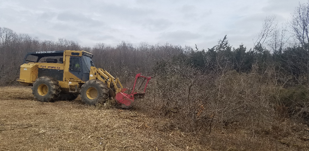 Rancourt Land Clearing of New York and Connecticut providing professional brush mowing Services