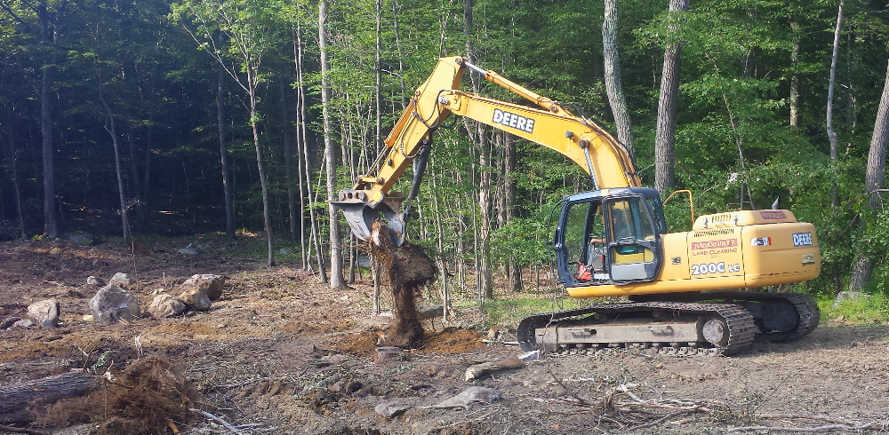 Rancourt Land Clearing Stump Removal of Connecticut