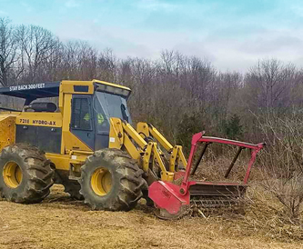 Rancourt Land Clearing Services Brush Mowing