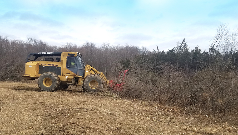 Rancourt Land Clearing Brush Mower Services in New York and Connecticut Area