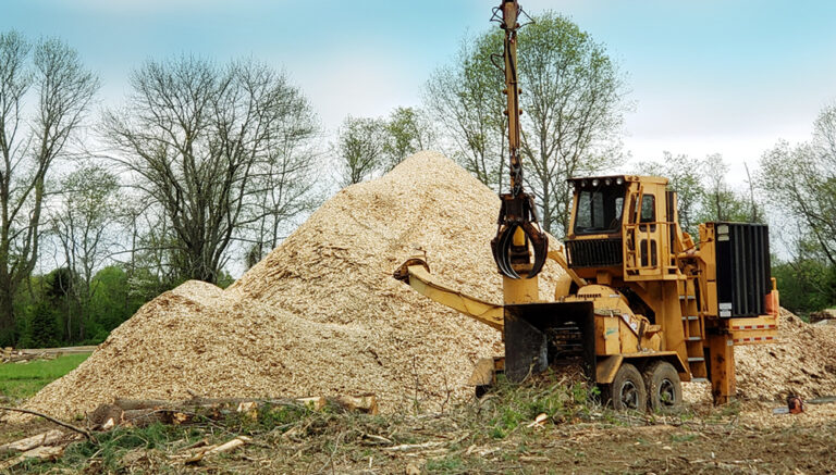 Rancourt Land Clearing Debris Tree Chipper Services in New York and Connecticut Area